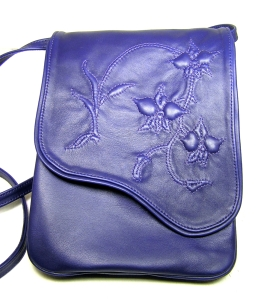 purple dendrobium crossbody