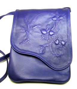 purple dendrobium crossbody